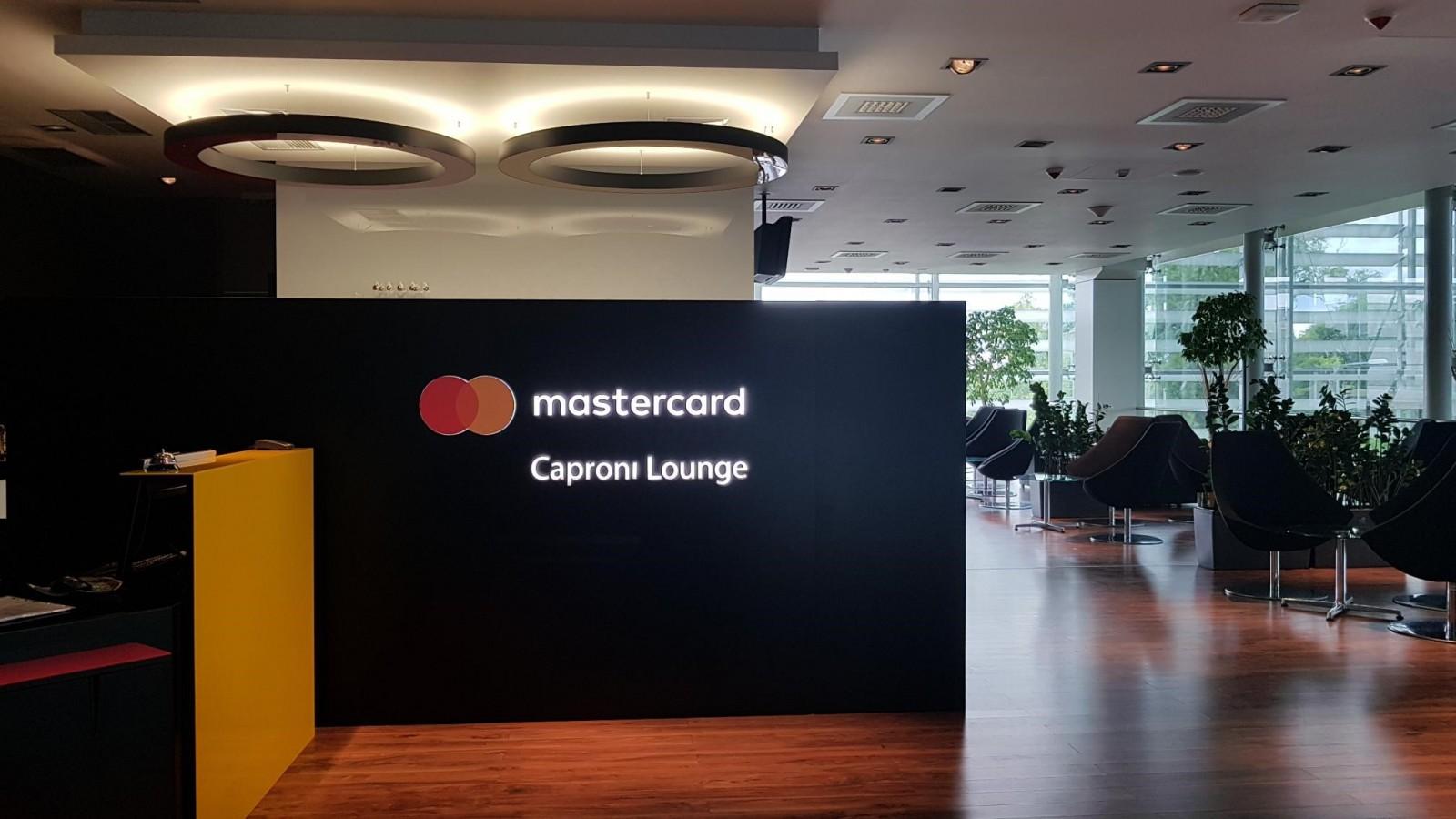 Mastercard Caproni Lounge